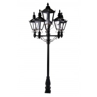 Quintuple Victorian Lamp Post Set - 2.3m