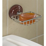 Heritage Rosewood Effect Soap Basket
