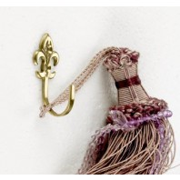'Fler De Ly's' version 1 Curtain tie back hook
