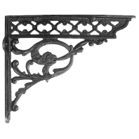 Serpent Iron Shelf Brackets 29 x 33cm