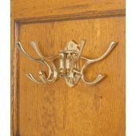 """""""Kynaston Avenue"""" Swivel Hook in Polished Brass"""