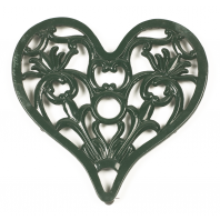 Trivet - Heavy Duty V3 Heart - Green