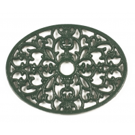 Trivet - Heavy Duty V6 - Oval - Green