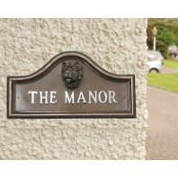 West Highland Terrier House Name Plaque