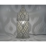 'Chitai Temple' Pin Hole Table Lamp