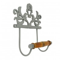 """Isadora Hall"" Cast Iron Toilet Roll Holder"