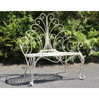 """""""Peacock"""" Garden Seat"""