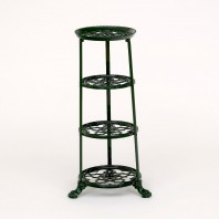 'Pie Pot Lane' Green Vintage Pot & Pan Stand