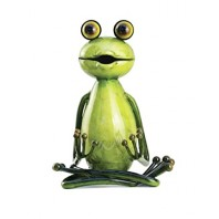 'The Lotus' Yoga Frog Sculpture