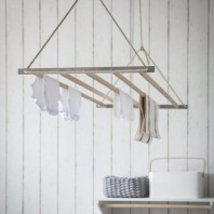 Beech Wood Kitchen Hanging Air Dryer by Garden Trading