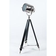 Aluminium Spotlight on Wooden Stand