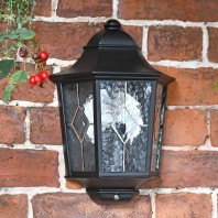 """Avebury Manor"" Traditional Half Lantern Wall Light"