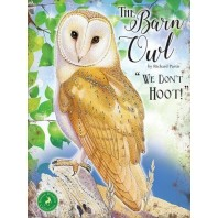 Barn Owl Metal Sign