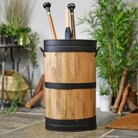 Barrel Style Umbrella & Walking Stick Stand