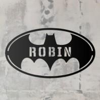 'Batman' Iron Personalised Wall Art