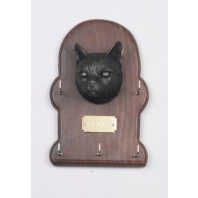 Tabby Cat Key Holder