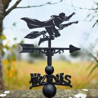 Flying Wizard Weathervane