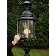 Black Belgravia Lantern 83cm