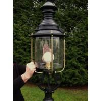 Black Belgravia Lantern 120cm
