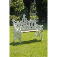 """Clarence House"" Two Seater Bench"