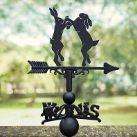 Boxing Hares Weathervane - Standard