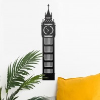 Big Ben Steel Wall Art