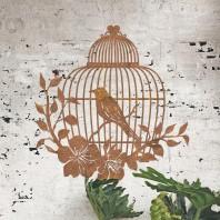Bird Cage Rustic Wall Art
