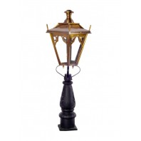 Antique Brass Gothic Design Driveway and Patio Lighting 105cm