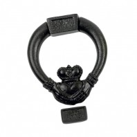 "Black ""Claddagh"" Door Knocker"
