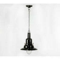 "Hanging Black ""Coach House"" Lamp"