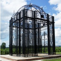 The LUXURY Royal Alexandria Wrought Iron Pavilion