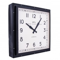 """Smith's Court"" Contemporary Wall Clock"