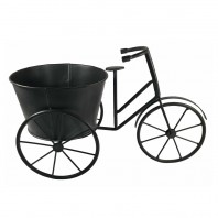 Black Tricycle Garden Planter
