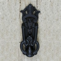 Black Victorian Door Knocker