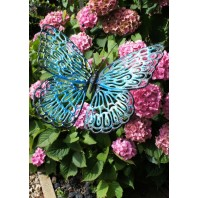 """Kenningsly Park"" Cast Iron Butterfly Garden Sculptures"