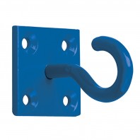 Blue Wall Mounting Chain Hook