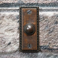 'Torvale' Burnished Copper Court Period Bell Push