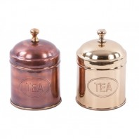 """Mansden House"" Classic Tea and Coffee Caddy"