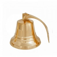 """5"""" Brass Bell with Rope Lanyard"""