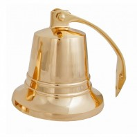 """6"""" Brass Bell with Rope Lanyard"""