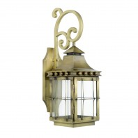 Antique Brass 'Brighton' Wall Lantern