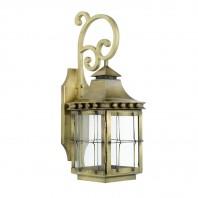 Antique Brass 'Brighton' Wall Lantern