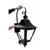 """Chattworth Hall"" Bronze Wall Lantern"