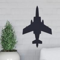 Black 'Blackburn Buccaneer' Aircraft Wall Art