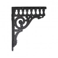 """Ribbleshead"" Classic Railway Bracket in Cast Iron 26 x 21cm"
