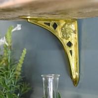 """""""Tudor Rose"""" Shelf Bracket 15 x 15cm"""
