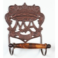 """""""Royal Camelot"""" period Toilet roll Holder"""