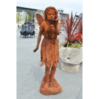 """Marigold Mists"" Woodland Fairy Garden Ornament"