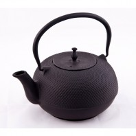 """Tillybrook"" Cast iron teapot with tea leaf strainer"