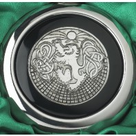 Celtic Lion Whiskey Flask